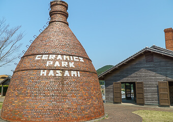 Hasami pottery town japan