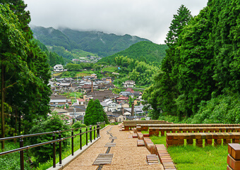 Japanese pottery town hasami